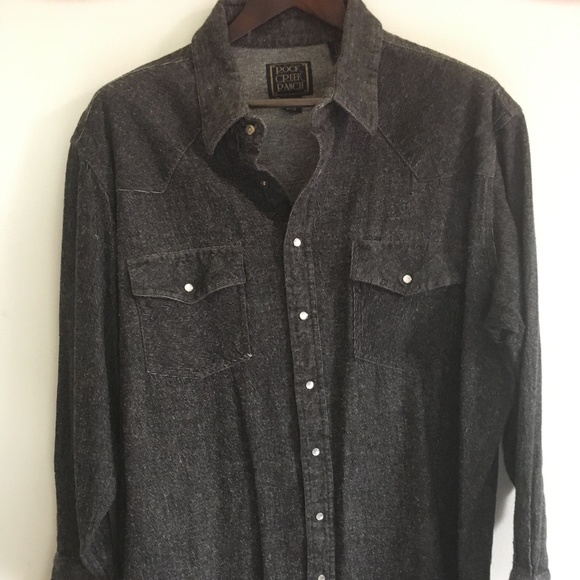 Rock Creek Ranch Other - VINTAGE Heavyweight Pearl-snap Western Shirt
